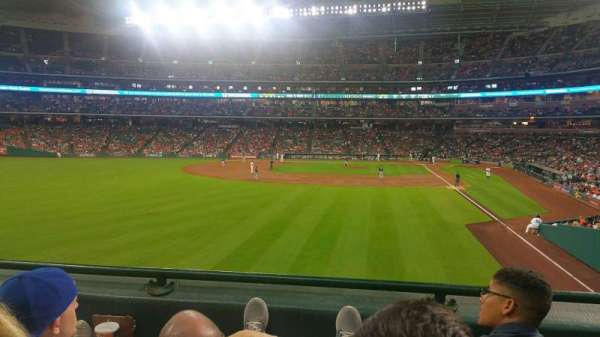 Minute Maid Park, section: 103, row: 2, seat: 8