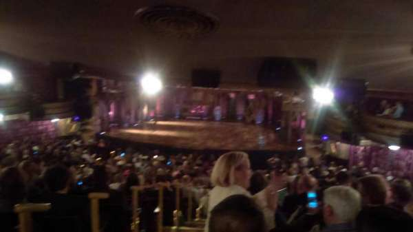 Richard Rodgers Theatre, section: Standing Room Only, row: 1, seat: 2