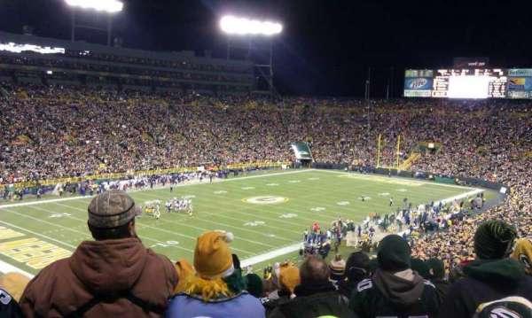 Lambeau Field, section: 108, row: 59, seat: 22