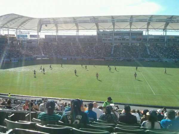 Dignity Health Sports Park, section: 132, row: W, seat: 18