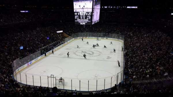 Amalie Arena, section: CLUB 12, row: B, seat: 18