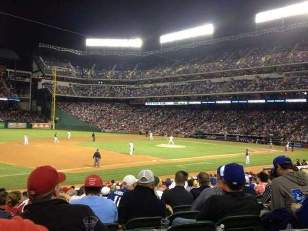 Globe Life Park in Arlington, section: 16, row: 17, seat: 12
