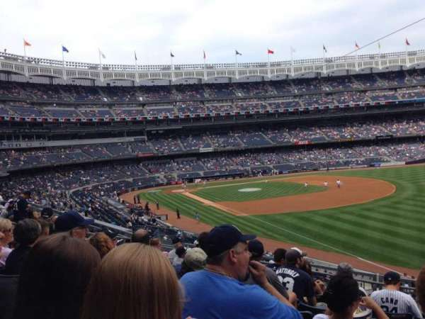 Yankee Stadium, section: 210, row: 8, seat: 3