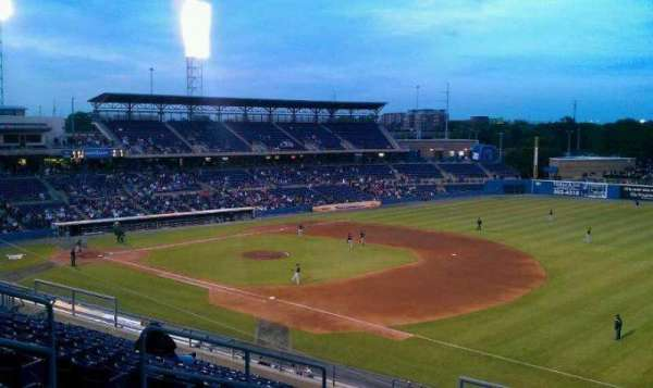 Harbor Park, section: 312, row: N, seat: 9