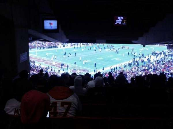 FedEx Field, section: 228, row: 21, seat: 17