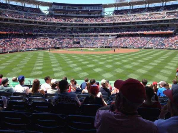 Nationals Park, section: 141, row: J, seat: 9