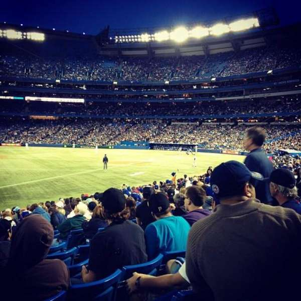 Rogers Centre, section: 130, row: 19, seat: 105
