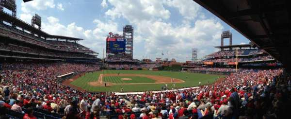 Citizens Bank Park, section: 120, row: 29, seat: 1