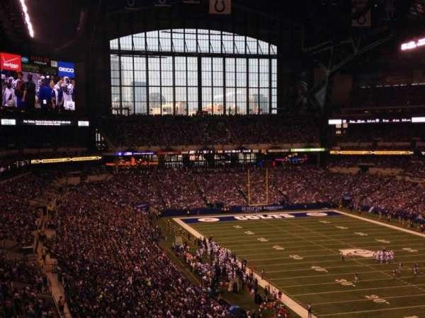 Lucas Oil Stadium, section: 431, row: 9, seat: 5