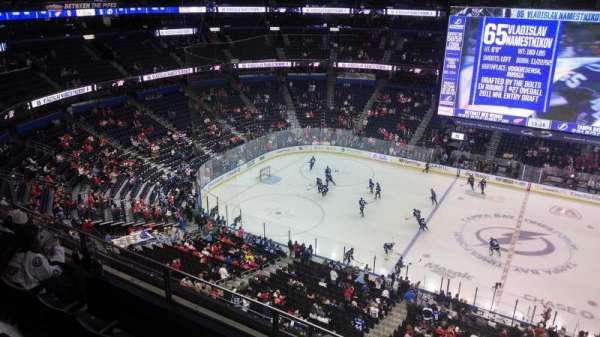 Amalie Arena, section: 315, row: B, seat: 6