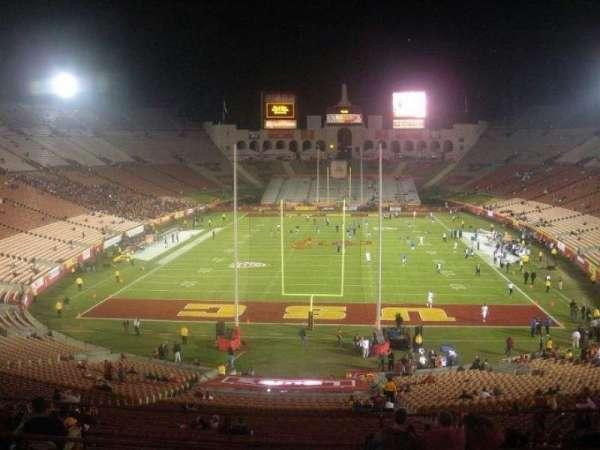 Los Angeles Memorial Coliseum, section: 214, row: 9, seat: 13