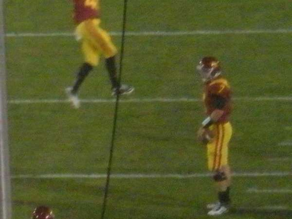 los angeles memorial coliseum, section: 214, row: 9, seat: 13