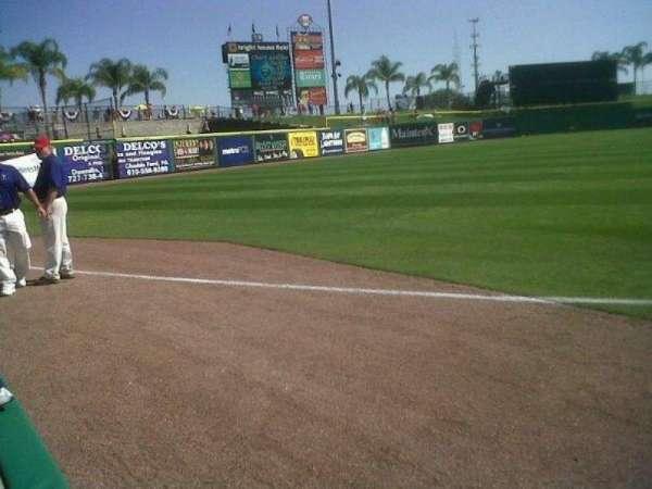 BayCare Ballpark, section: 119, row: 1