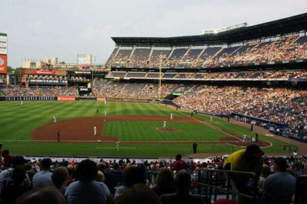 Turner Field, section: 218
