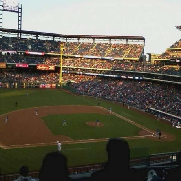 Citizens Bank Park, section: 326, row: 3, seat: 4