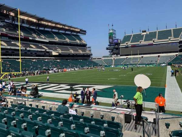 Lincoln Financial Field, section: 112, row: 7, seat: 1