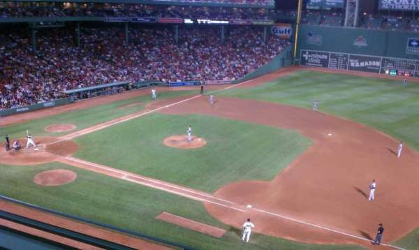 Fenway Park, section: Pavilion 9, row: 2, seat: 6