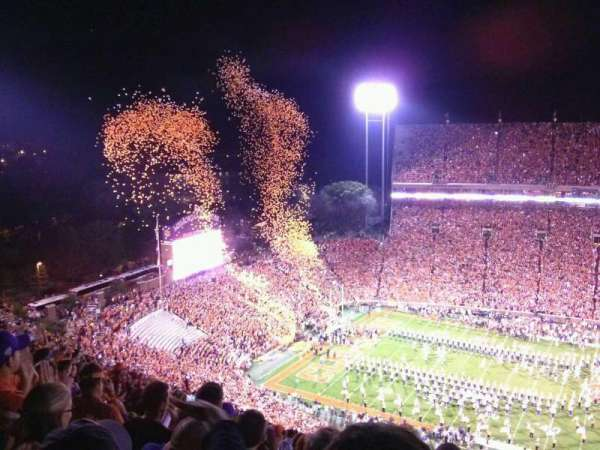 Memorial Stadium, Clemson, section: TDO, row: T, seat: 19