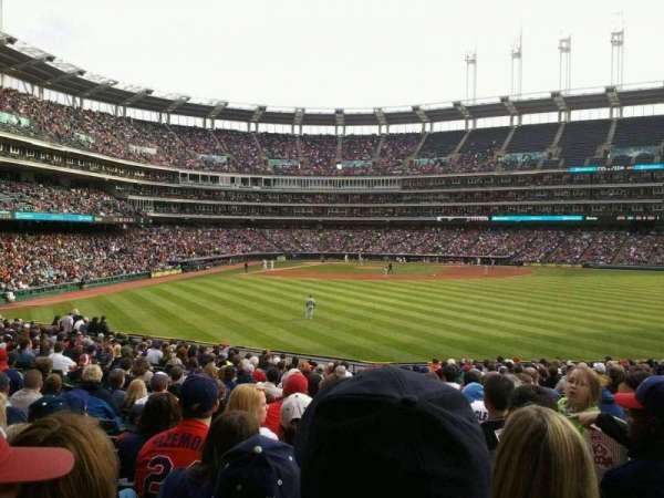 Progressive Field, section: 107, row: N, seat: 3