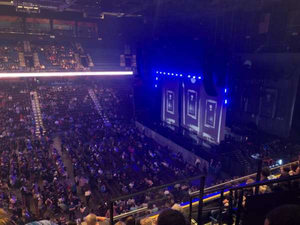 Mohegan Sun Arena, section: 107, row: F, seat: 4