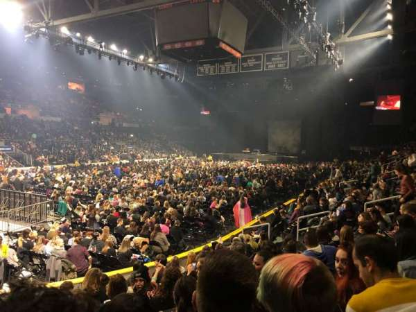 Dunkin' Donuts Center, section: 112, row: A, seat: 6