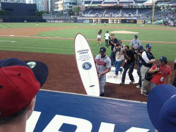 PETCO Park, section: 108, row: 9, seat: 2