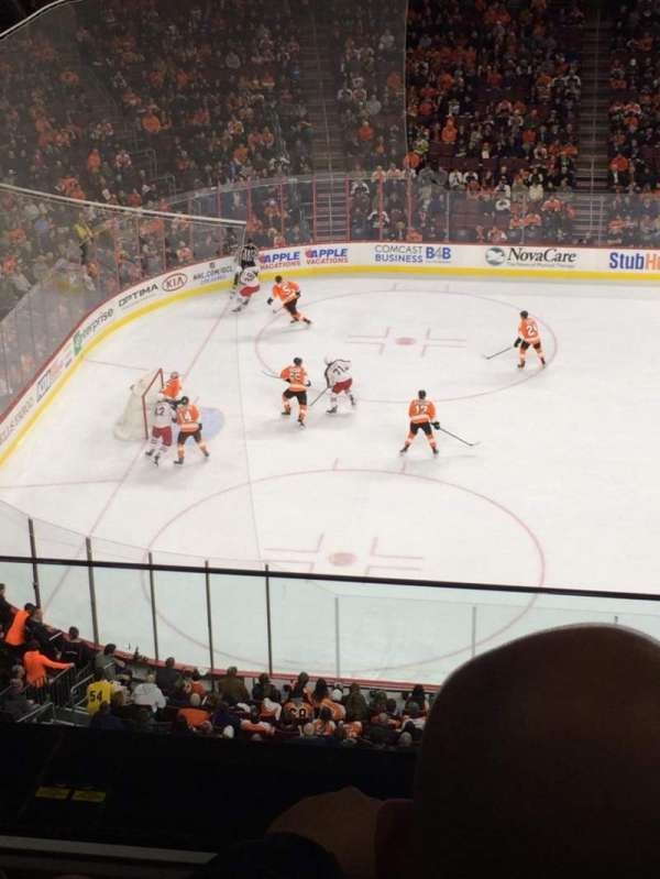 Wells Fargo Center, section: 223, row: 2, seat: 22