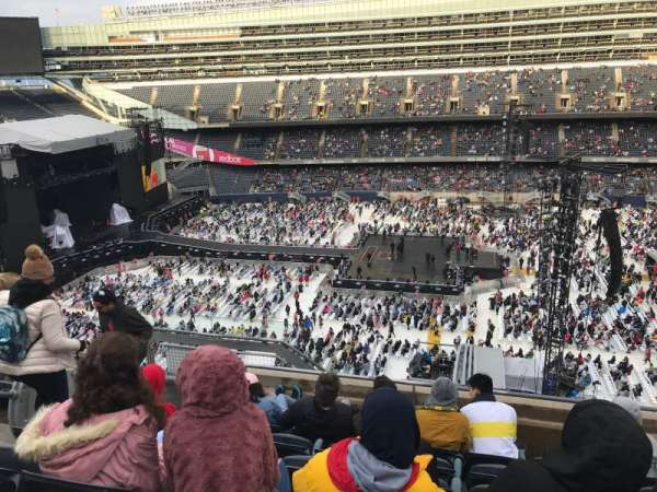 Soldier Field, section: 437, row: 6, seat: 6
