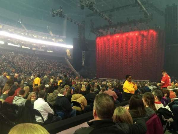 Sprint Center, section: 118, row: 2, seat: 9-11