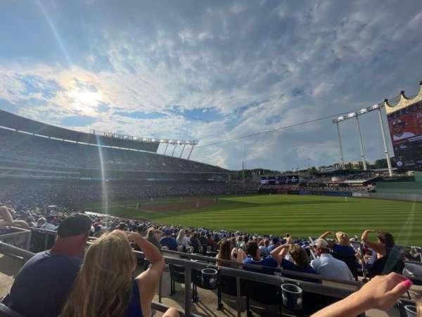 Kauffman Stadium, section: 244, row: BB, seat: 5