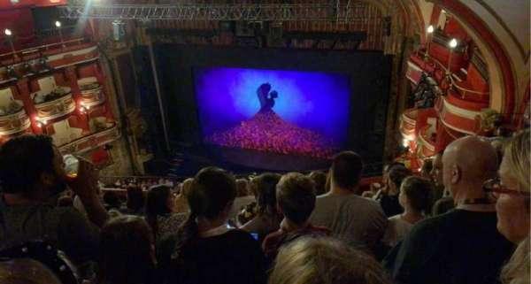 Bristol Hippodrome, section: Upper Circle, row: K, seat: 10