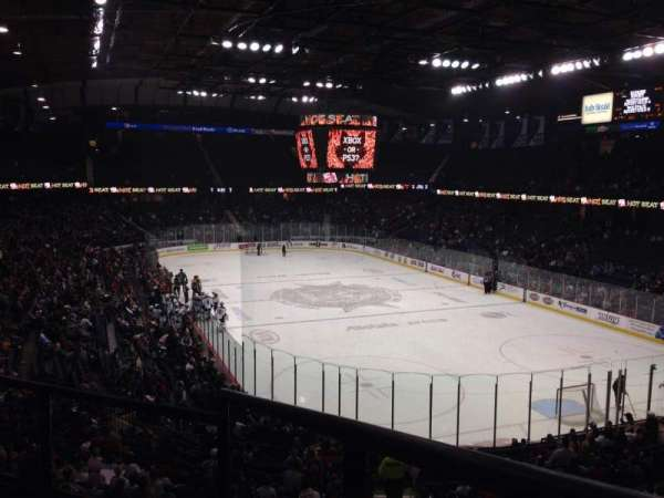 Allstate Arena, section: 208, row: C, seat: 1