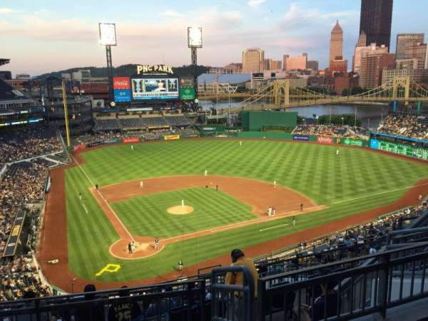 PNC Park, section: 313, row: L, seat: 13