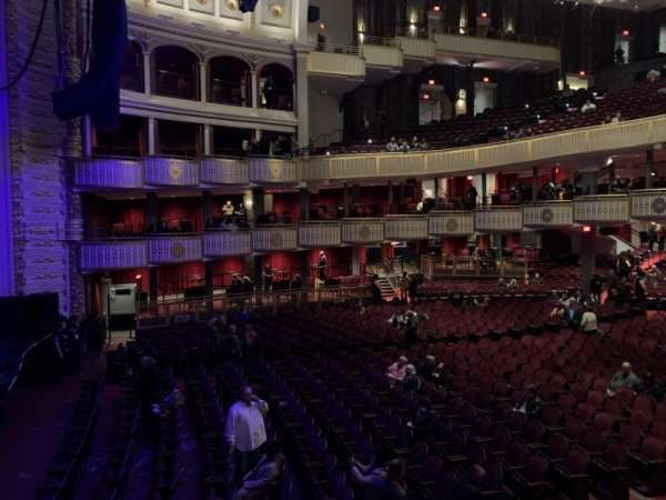 The Met Philadelphia, section: Grand Salle BOX 17, row: A, seat: 3