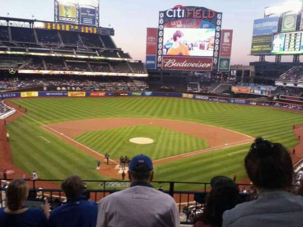 Citi Field, section: 318, row: 4, seat: 7