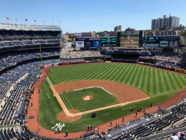 Yankee Stadium, section: 419, row: A, seat: 4