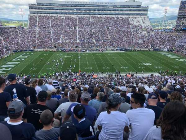 Beaver Stadium, section: WEU, row: 67, seat: 17