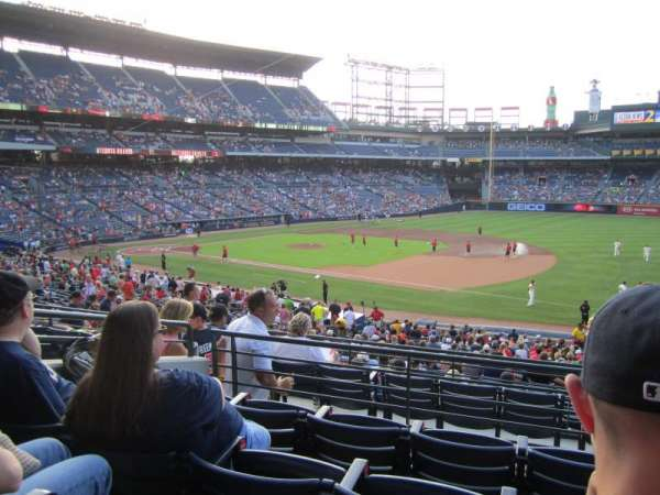 Turner Field, section: 219, row: 4, seat: 104