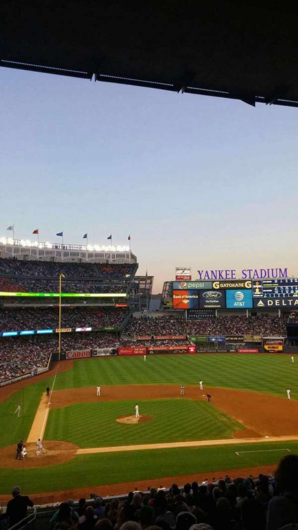 Yankee Stadium, section: 217 , row: 18, seat: 21