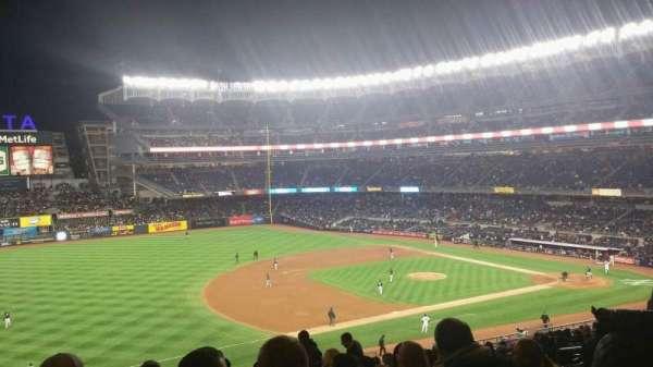 Yankee Stadium, section: 227B, row: 19, seat: 8