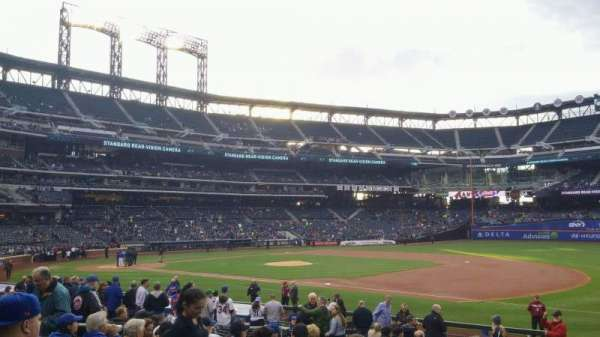 Citi Field, section: 111, row: 19, seat: 12
