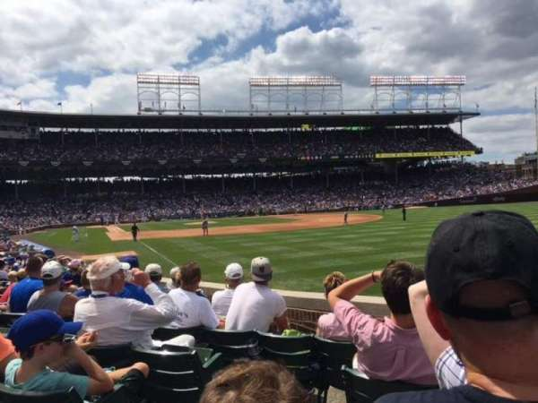 Wrigley Field, section: 133, row: 6, seat: 1