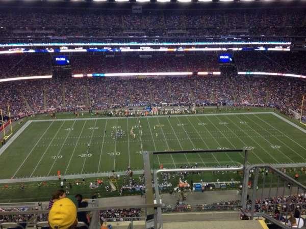 Gillette Stadium, section: 310, row: 17, seat: 1