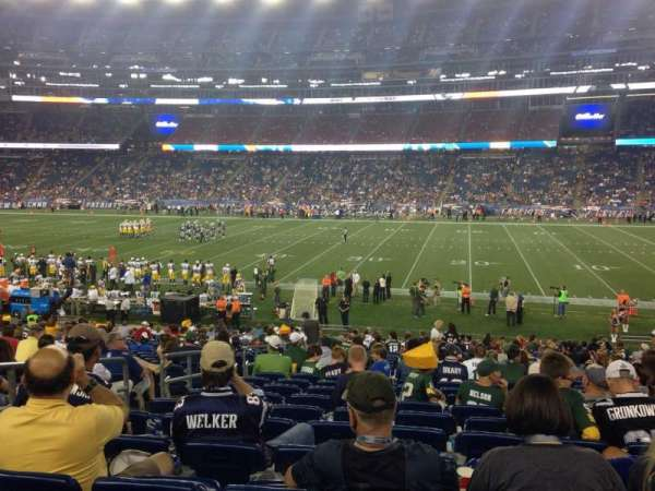 Gillette Stadium, section: 129, row: 25, seat: 18