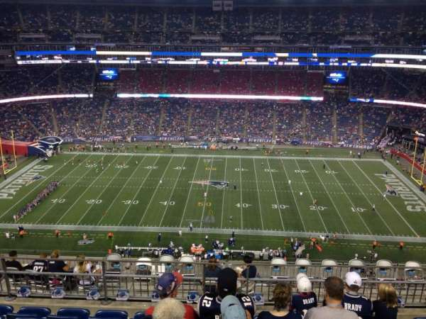 Gillette Stadium, section: 331, row: 13, seat: 13