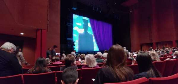 San Diego Civic Theatre, section: Orchestra, row: H, seat: 51