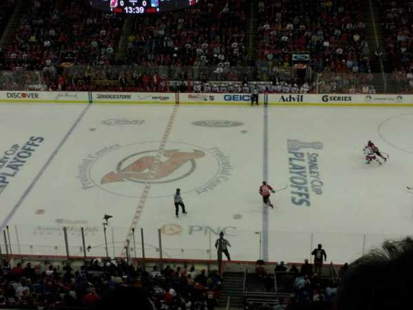 Prudential Center, section: 129, row: 2, seat: 2