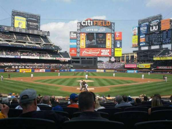 Citi Field, section: 15, row: 18, seat: 10