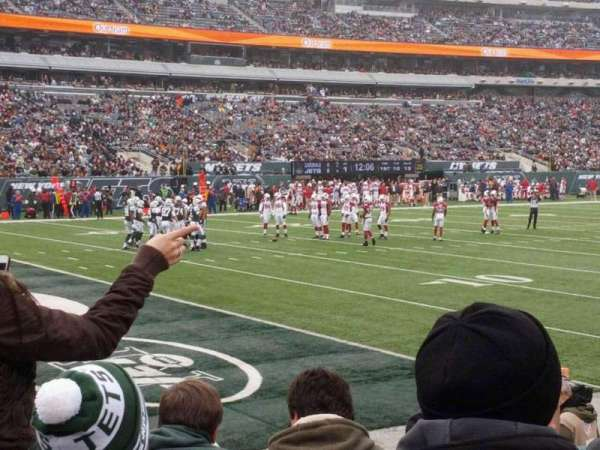 MetLife Stadium, section: 121, row: 4, seat: 4