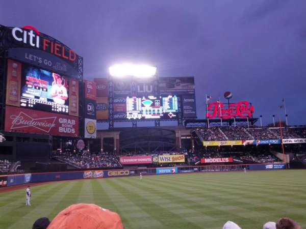 Citi Field, section: 129, row: 5, seat: 1
